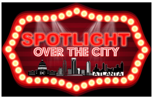 Spotlight Over The City